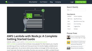 AWS Lambda with Node.js: A Complete Getting Started Guide