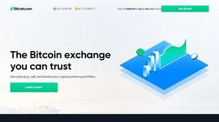Bitcoin.com | Buy BTC & BCH | News, prices, mining & wallet