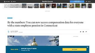 By the numbers: You can now access ... - Hartford Courant