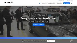 CARFAX® for Dealers: Vehicle History and Listing Solutions ...