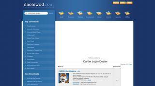 Carfax Login Dealer Software - Free Download of Carfax ...
