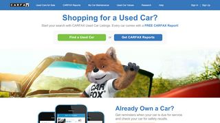 CARFAX™ - Shop, Buy, Own, & Sell Used Cars