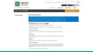 Carpathia - Online Banking