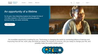 Cisco Networking Academy Builds IT Skills & Education For ...
