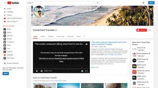 Condé Nast Traveller - YouTube