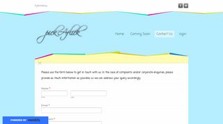 Contact Us - pickAflick