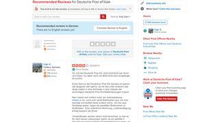 Deutsche Post eFiliale - Post Offices - Marienberger Str ...