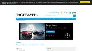 E-Paper lesen - Tageblatt.de - TAGEBLATT