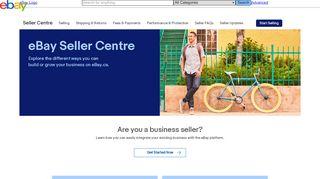 eBay | Seller Centre