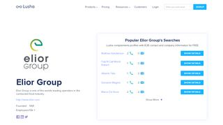 Elior Group - Email Address Format & Contact Phone Number - Lusha