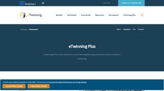 eTwinning Plus - Homepage