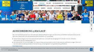 EVL-Halbmarathon Leverkusen: 5 KM-Lauf