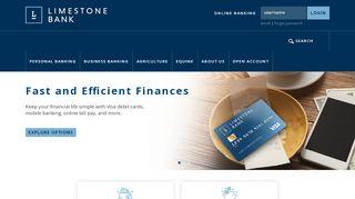 Home :: Limestone Bank