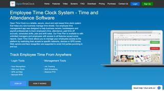 Home - OpenTimeClock.com - Web based Free …