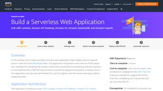 How to Build a Serverless Web Application with AWS Lambda ...