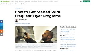 How to Get Started With Frequent Flyer Programs - NerdWallet