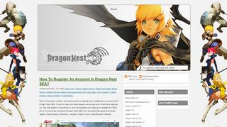 How To Register An Account In Dragon Nest …