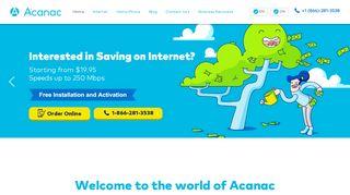 Internet & Home Phone Service Provider in Canada   Acanac