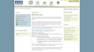 IWK Home - Nova Scotia Health Authority