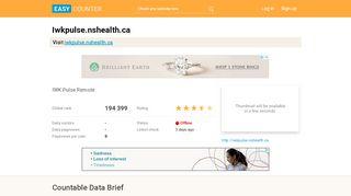 Iwkpulse.nshealth.ca: IWK Pulse Remote - Easy Counter: …
