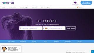 Jobbörse, Stellenangebote, Jobs, Jobsuche | Monster.de ...