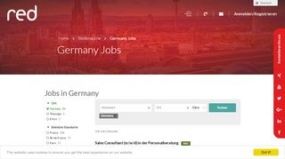 Jobs in Germany - RED SAP Solutions Germany