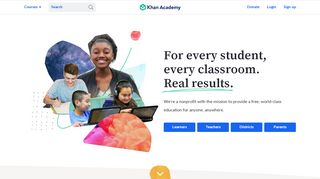 Khan Academy   Free Online Courses, Lessons & Practice