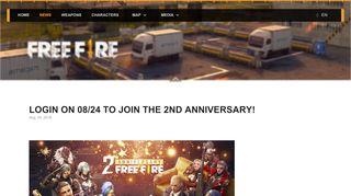 latest news - Garena Free Fire. Best survival Battle Royale on ...