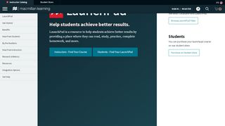 LaunchPad - Where Students Learn   Macmillan Learning