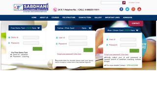 line Speed Test   Sabdhani Coaching Institute