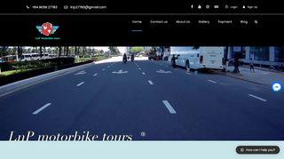 LnP Motorbike Tours – travel different!