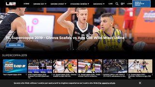 LNP Pass I Live e On Demand tutte le partite di Basket di ...