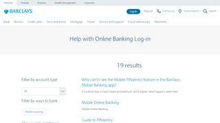 Log-in | Barclays