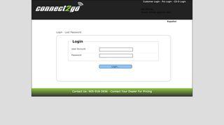 Login - Connect 2 Go