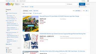login | eBay