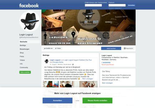 Login Logout - Startseite | Facebook