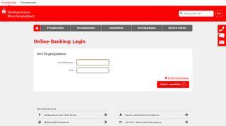 Login Online-Banking - sparkasse-moenchengladbach.de
