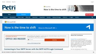 Mail Server Authentication with SMTP AUTH - Petri