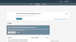 Maxor National Pharmacy Services, LLC | LinkedIn