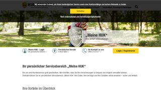 Meine HUK – Ihr persönlicher Servicebereich | HUK-COBURG