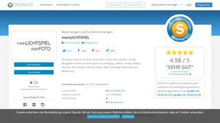 meinlichtspiel.com Bewertungen und Kundenmeinungen ...
