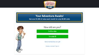 Member Page - Adventures in Odyssey Club