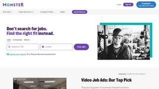 Monster Jobs - Job Search, Career Advice & …