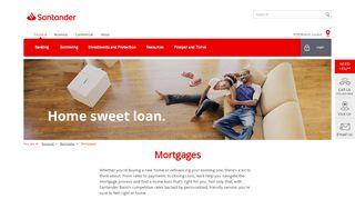 Mortgages | Home Loan | Santander Bank