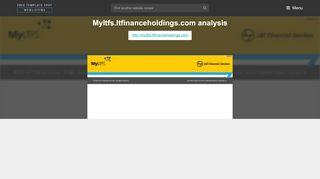 MyLTFS Ltfinanceholdings. MyLTFS : Login - L&T Financial ...