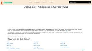 Oaclub.org - Adventures in Odyssey Club