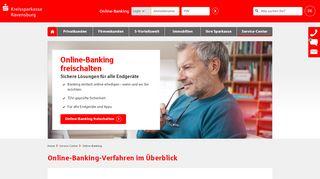 Online-Banking   Kreissparkasse Ravensburg