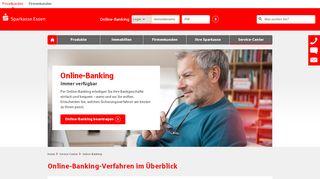 Online-Banking   Sparkasse Essen