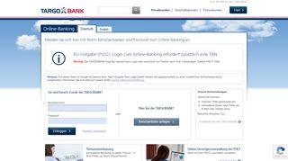 Online-Banking   TARGOBANK