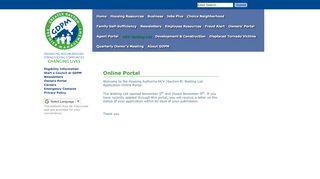 Online Portal - Dayton Metropolitan Housing